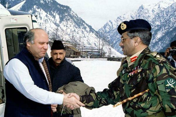 kargil war nawaz sharif and pervez musharraf jaguar india pakistan war