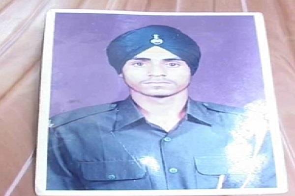 manjeet was martyred in kargil in haryana
