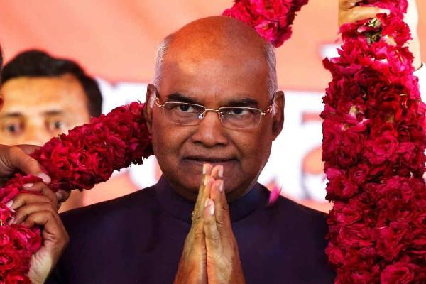 kovind will take oath as the 14th president today