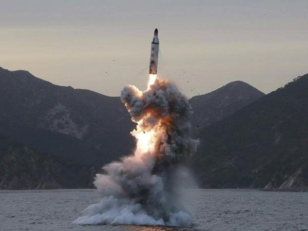 north korea again launches missile