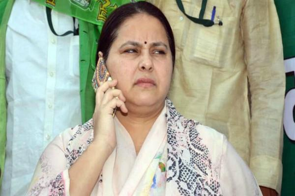 misa bharti evades questions on corruption charges against her