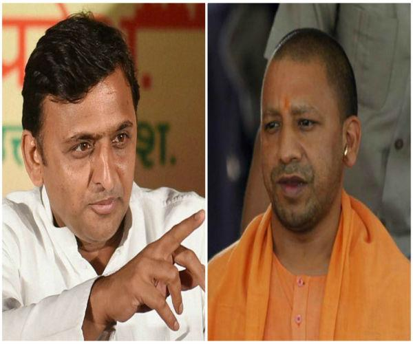 heavy politics akhilesh upheld yogi government responsible