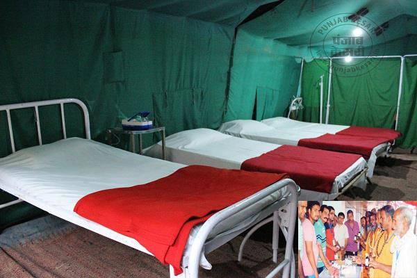 medical camp imposed for the convenience of pilgrims