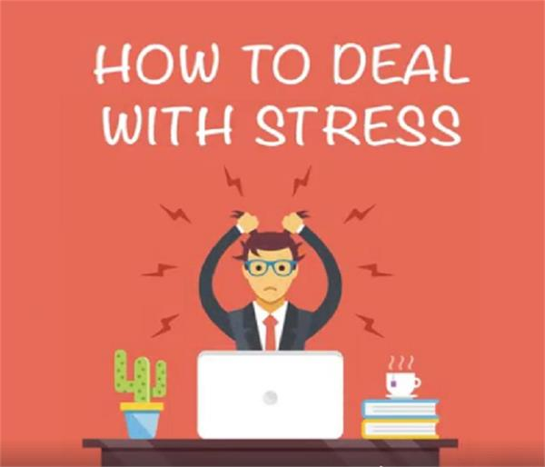 try these easy tips to relieve stress