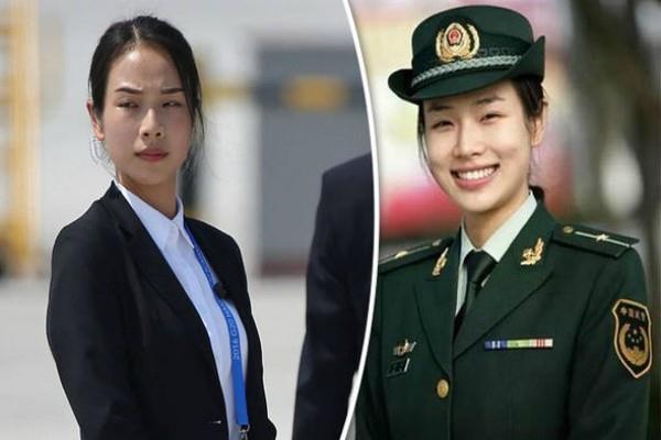 chinese president  s bodyguard shu xin photos viral