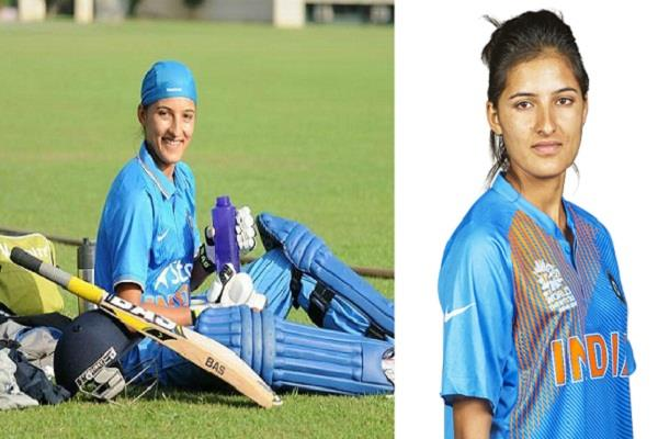 cricketer sushma verma will become dsp virbhadra government gave it offer