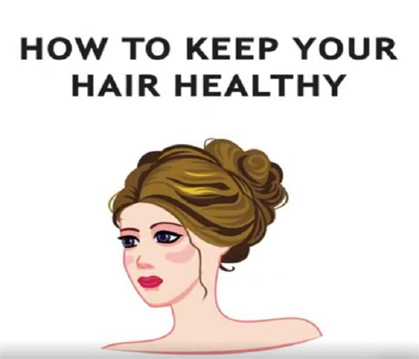 these methods are make healthy and weak dry hair