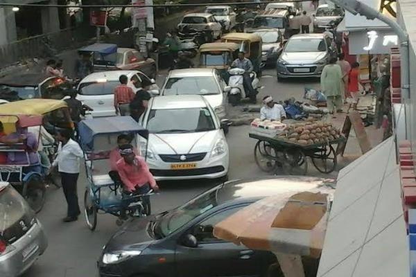 traffic problem has taken a vitiated look