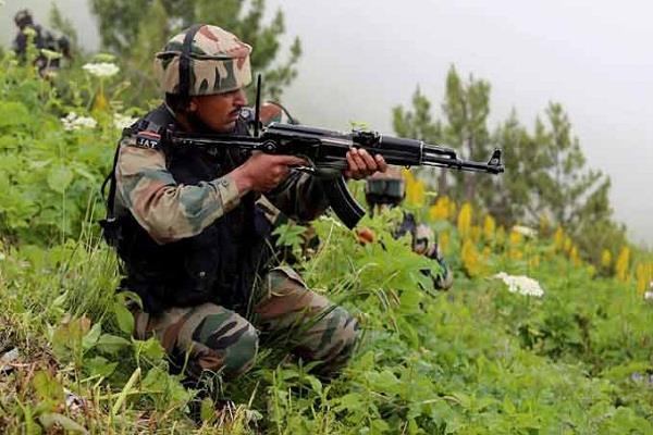 pakistan startart firing at naushera area after poonch