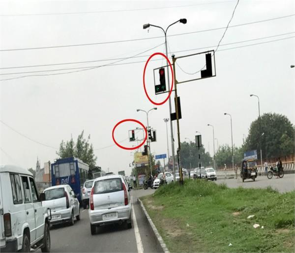 administration unnecessary towards poor traffic lights