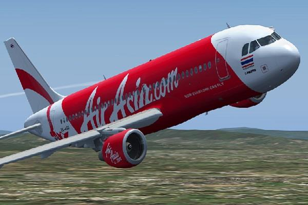 bird collides with air asia flight during take off