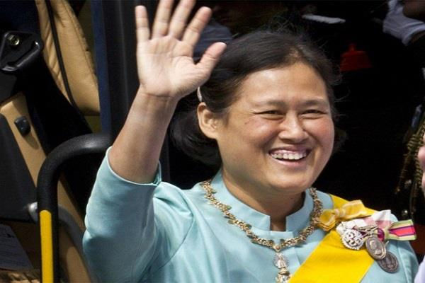 princess maha chakri sirindhorn of thailand visited ta jmahal agra