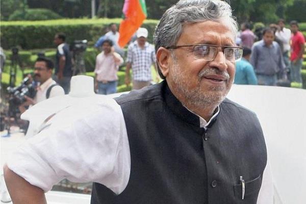 modi said nitish decision against tejaswi is with bjp