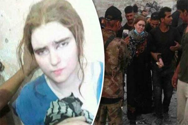 isis mosul german teenage girl who joined isis in iraq want to go home