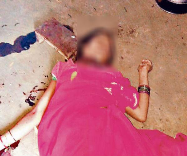 up  woman head ravaged  ruthless killing  reason will be known