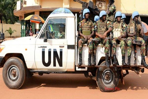 un moroccan peacekeeper killed in central african republic