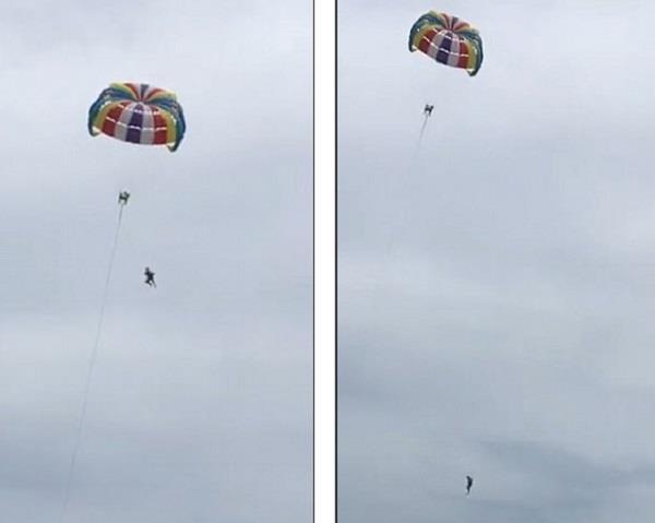 australian tourist death during  parasailing in thailand