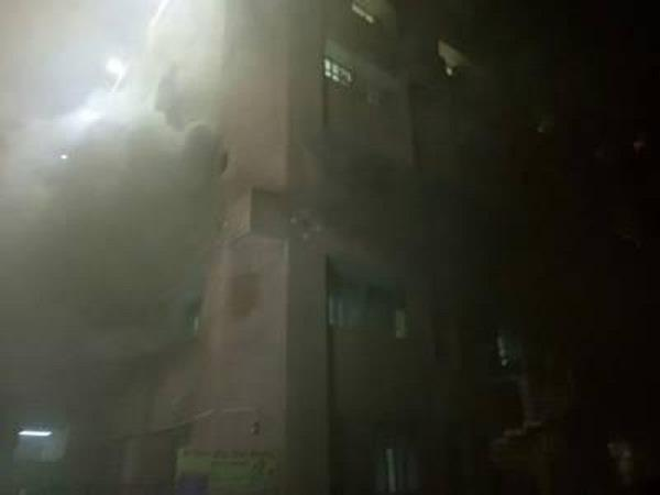 lucknow  king george medical university  s trauma center fire