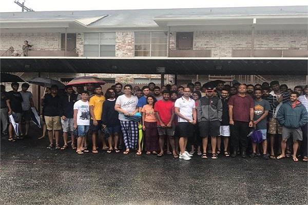 200 indian students trapped in floods in us