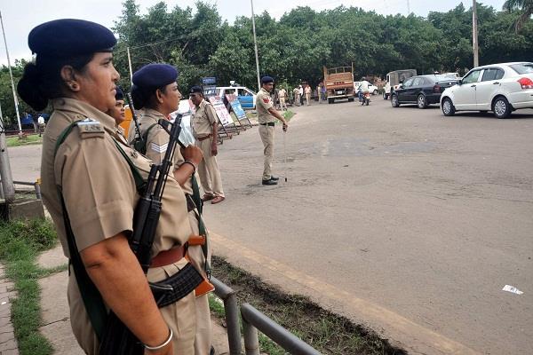 sadhvi sexual harassment case panchkula transformed into police camp