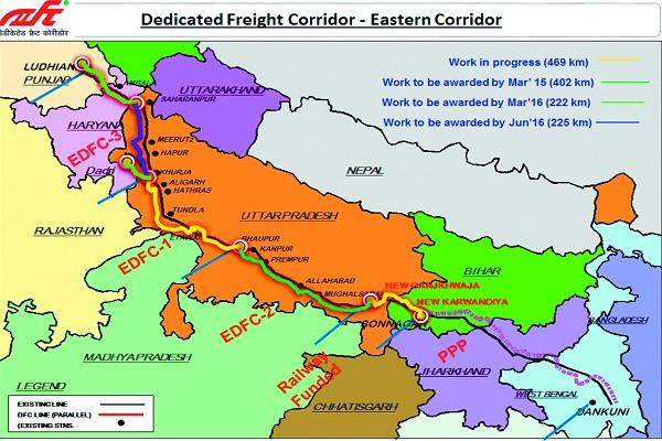 dadiqatid freight corridor railways rejects suggestions