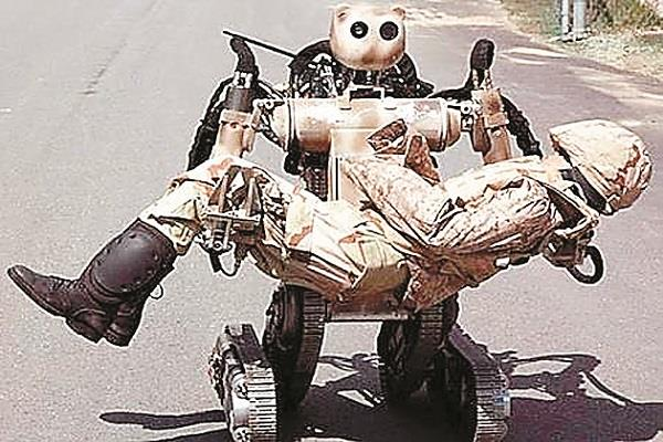 army will use robot in fight against terrorists in kashmir