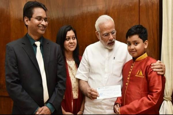 riddhiraj kumar donates prize money for indian army welfare fund