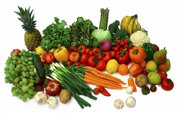 high rate of vegitables
