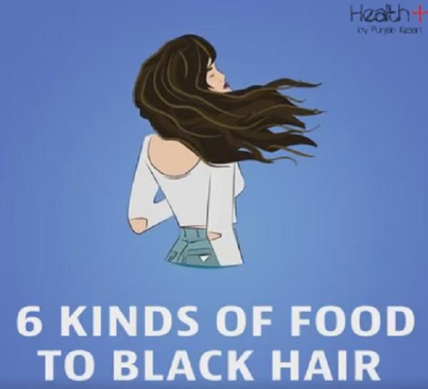 6 kinds of foods to black hair