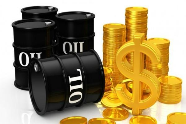 crude oil slips  a surge in gold