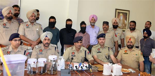 three shooters firing at harvinder in balongi arrested