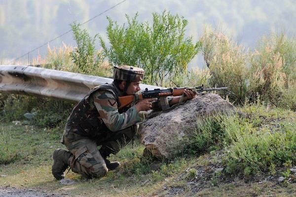 ceasefire violation in mankote sector of mendhar