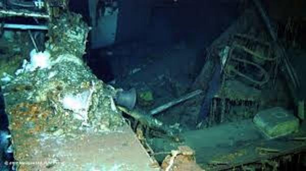 uss indianapolis wreckage found after 72 years