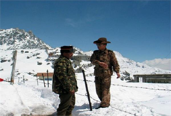 india china army meeting on pangong lake matter