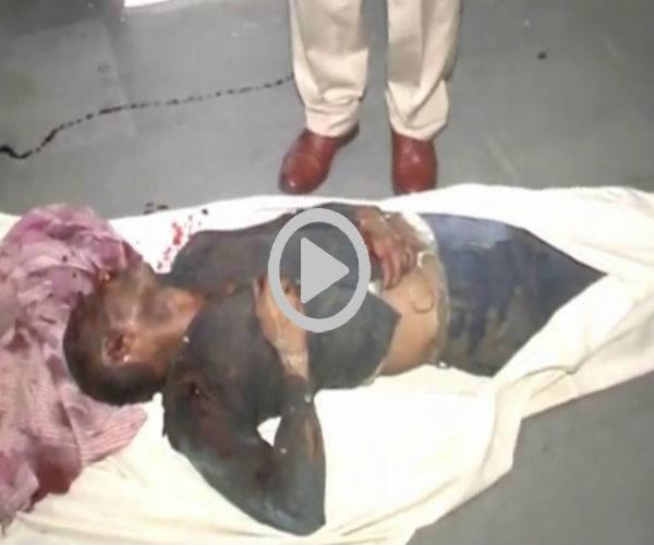 bloody game played again in up due to ground dispute