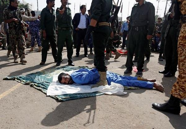 rapist who murdered 3 year old girl publicly executed with machine gun