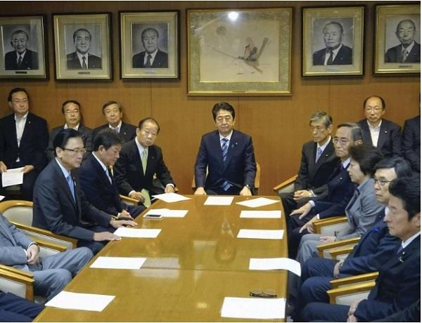 cabinet reshuffle  in japan