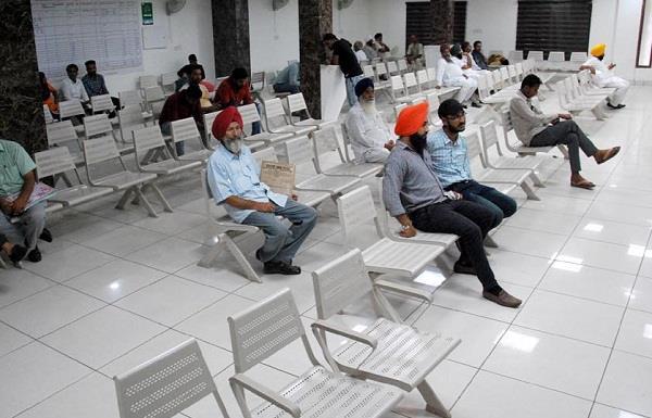 punjab revenue officer association collective leave  closed tehsil