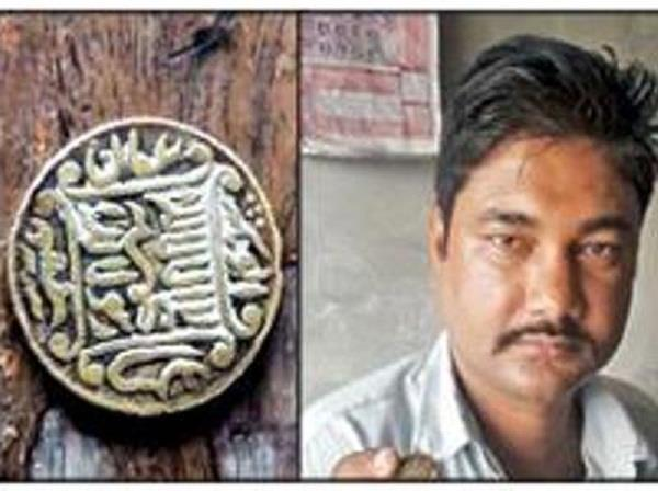 shopkeeper became millionaires found ancient coin