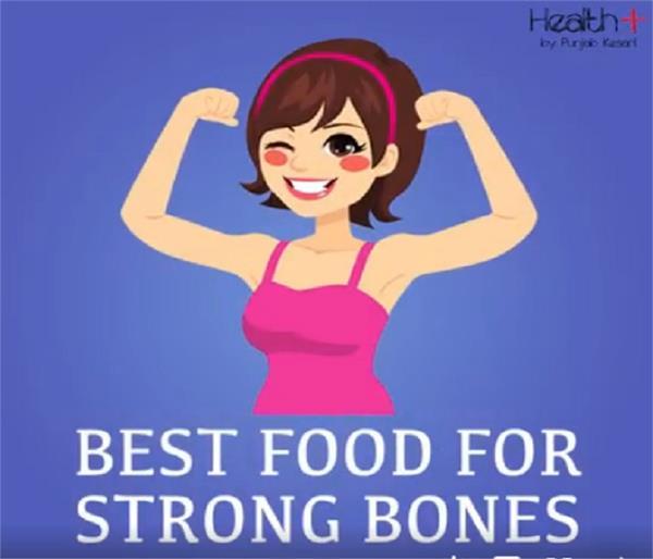 best healthy foods for strong bones