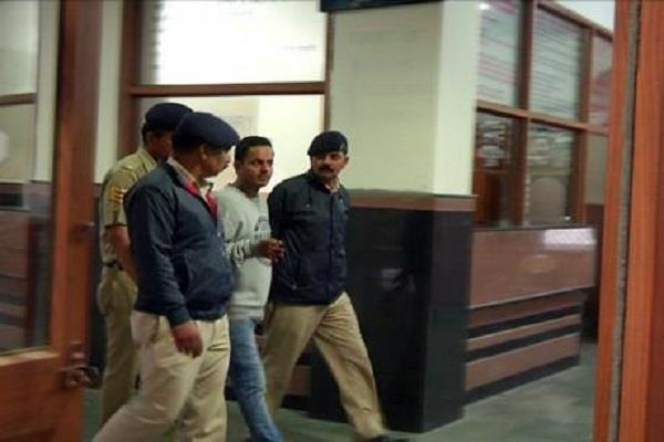 accused ashish chauhan of bail petition on from hearing high court denies
