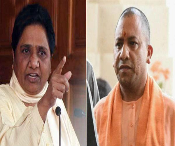 mayawati bjp government speaks down on gorakhpur incidents