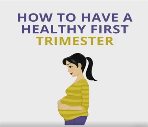 keep you healthy in the first three months of pregnancy