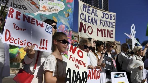 australian court dismisses appeals against adani coal mine project