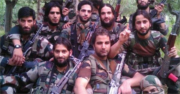 militants poster released by army in kashmir