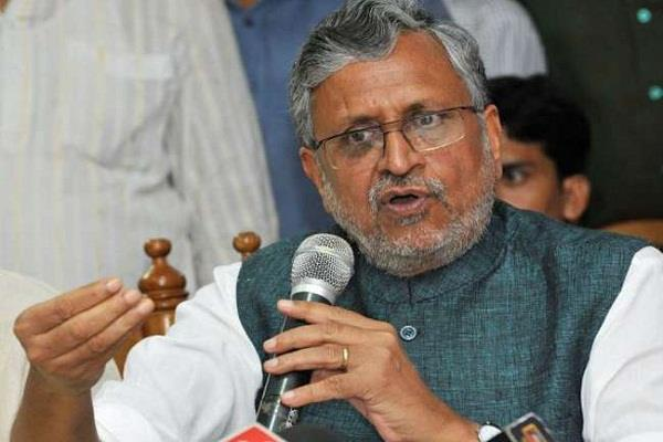 why sushil modi stand in support of rabri devi