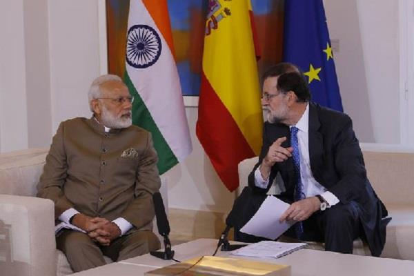 pm modi letter to the government of spain