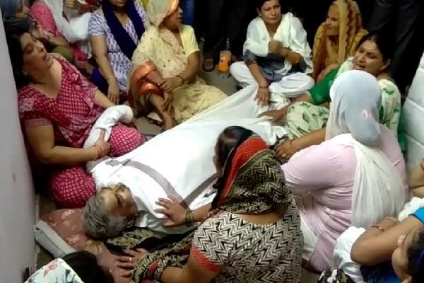 custody of police death of elder
