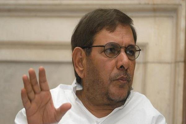 jdu said sharad  resign from the rajya sabha