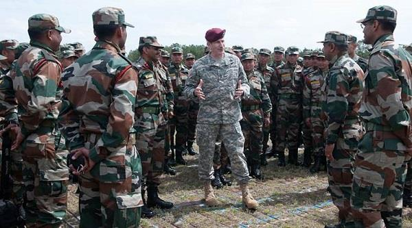 india and us armies gear up for joint military drill in september